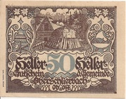 50 Heller (Oberschlierbach) – obverse