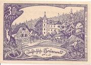 30 Heller (Oberweissenbach und Bernhardschlag) -  obverse