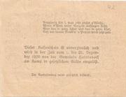 50 Heller (Oberweissenbach und Bernhardschlag) -  reverse