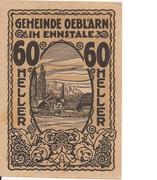 60 Heller (Oeblarn im Ennstal) -  obverse