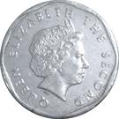 1 Cent - Elizabeth II (4th portrait) – obverse