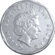 1 Cent - Elizabeth II (4th portrait) – obverse