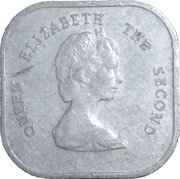 2 Cents - Elizabeth II (2nd portrait) – obverse