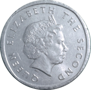 2 Cents - Elizabeth II (4th portrait) – obverse