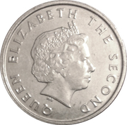 10 Cents - Elizabeth II (4th portrait) – obverse