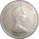 25 Cents - Elizabeth II (2nd portrait) – obverse
