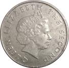 25 Cents - Elizabeth II (4th portrait) – obverse