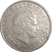 25 Cents - Elizabeth II (4th portrait) – obverse