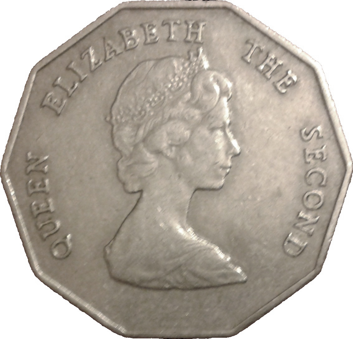 1 Dollar Elizabeth Ii 2nd Portrait