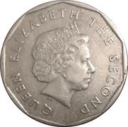 1 Dollar - Elizabeth II (4th portrait; non-magnetic) -  obverse
