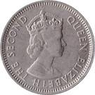 25 Cents - Elizabeth II (1st portrait) – obverse