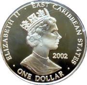 1 Dollar - Elizabeth II (Edward III 1327-1377) – obverse