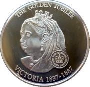 1 Dollar - Elizabeth II (Queen Victoria 1837-1901) – reverse