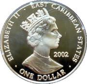 1 Dollar - Elizabeth II (Queen Elizabeth II 1952-2002) – obverse