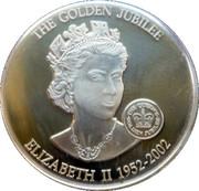 1 Dollar - Elizabeth II (Queen Elizabeth II 1952-2002) – reverse
