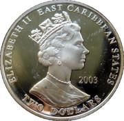 2 Dollars - Elizabeth II (Horatio Nelson) – obverse
