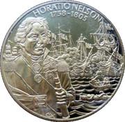 2 Dollars - Elizabeth II (Horatio Nelson) – reverse