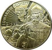 2 Dollars - Elizabeth II (King Edward III) – reverse