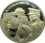 2 Dollars - Elizabeth II (Sir Douglas Haig) – reverse