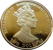 2 Dollars - Elizabeth II (King Alfred the Great) – obverse