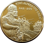 2 Dollars - Elizabeth II (King Alfred the Great) – reverse