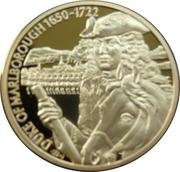 2 Dollars - Elizabeth II (Duke of Marlborough) – reverse