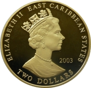 2 Dollars - Elizabeth II (General Gordon) – obverse