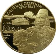2 Dollars - Elizabeth II (General Gordon) – reverse