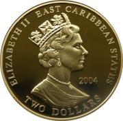 2 Dollars - Elizabeth II (King Edward I) – obverse