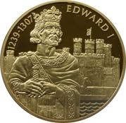 2 Dollars - Elizabeth II (King Edward I) – reverse