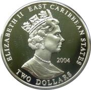 2 Dollars - Elizabeth II (Earl of Cardigan) – obverse