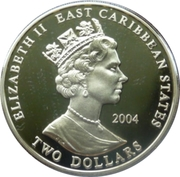 2 Dollars - Elizabeth II (King Henry II) – obverse