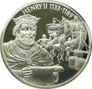 2 Dollars - Elizabeth II (King Henry II) – reverse