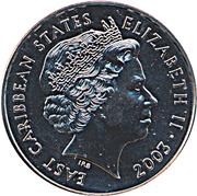 1 Dollar - Elizabeth II (Pre-Decimal Coinage) – obverse