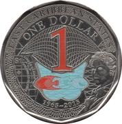 1 Dollar - Elizabeth II (ECC) – reverse