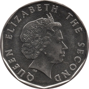 1 Dollar - Elizabeth II (4th portrait; magnetic) – obverse