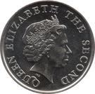 25 Cents - Elizabeth II (4th portrait; magnetic) – obverse