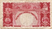 1 Dollar - Elizabeth II -  reverse