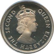10 Cents - Elizabeth II (1st portrait) – obverse