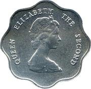 5 Cents - Elizabeth II (2nd portrait) – obverse