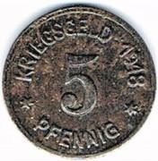 5 Pfennig - Oels (Kaufmännischer Verein) – reverse