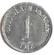 1 Pfennig - Offenbach am Main – obverse