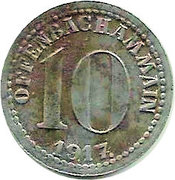 10 Pfennig - Offenbach am Main – obverse