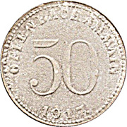 50 Pfennig - Offenbach am Main – obverse