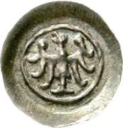 1 Pfennig - Berthold von Teck – obverse