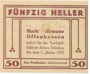 50 Heller (Offenhausen) -  reverse