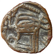 1 Jital  - King Samant Deva (Ohinda Dynasty) – obverse