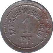 1 Pfennig - Ohrdruf (Gefangenenlager) – reverse