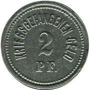 2 Pfennig - Ohrdruf (Gefangenenlager) – reverse