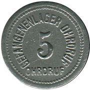 5 Pfennig - Ohrdruf (Gefangenenlager) – obverse
